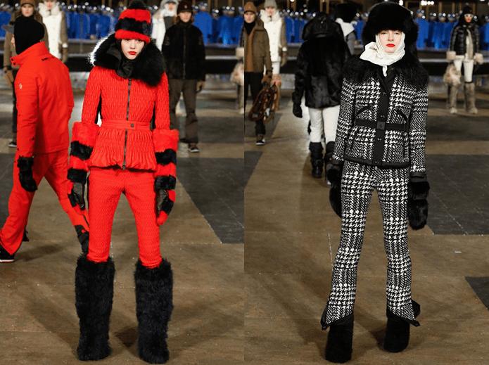 Модные лыжные костюмы6