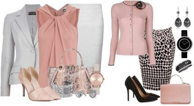 Нотка розового в наряде