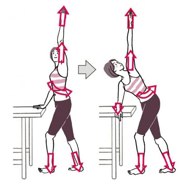 Освобождение фасции - Упражнение 3