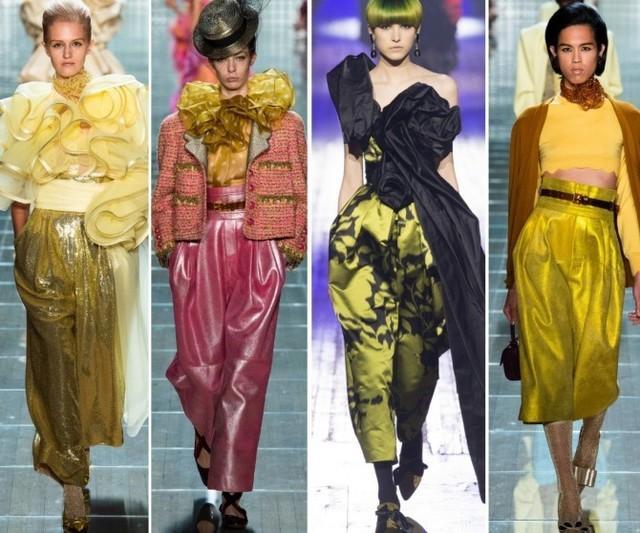 Кожаные брюки Marc Jacobs