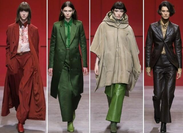 Кожаные брюки Salvatore Ferragamo