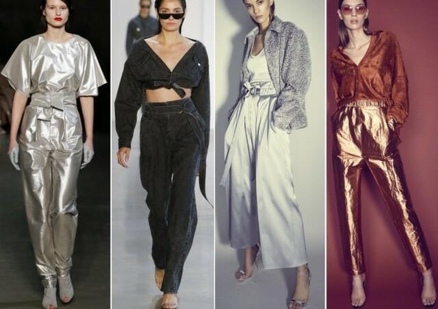 Кожаные брюки Sally LaPointe