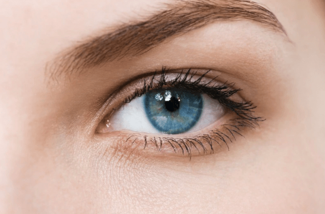 Синие глаза характер