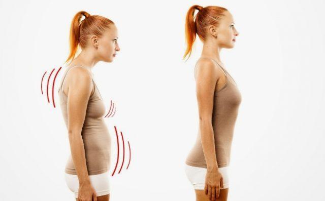 Упражнения изменят осанку