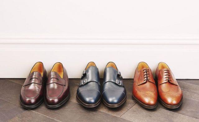 Характер по мужской обуви