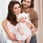 Заворотнюк с мужем и дочкой