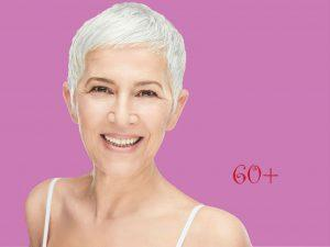 Календарь красоты женщины после 60 лет – уход за лицом, косметические процедуры и средства