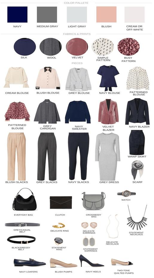 Капсульный гардероб на зиму 2019 2020 6