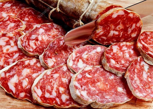 Красное переработанное мясо