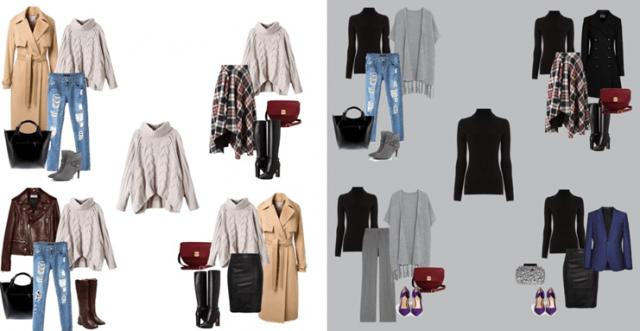 Крутые капсульные гардеробы для среднего класса