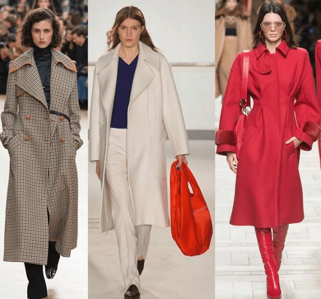 Мода на пальто