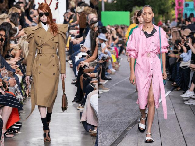 Модные плащи осень 2019