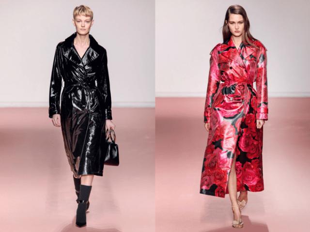 Модные плащи осень 2019 1