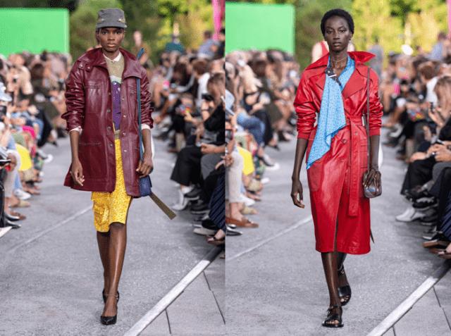 Модные плащи осень 2019 3