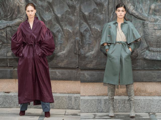 Модные плащи осень 2019 4