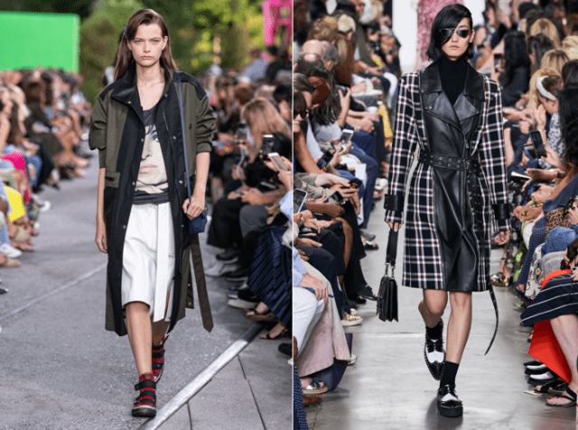 Модные плащи осень 2019 6