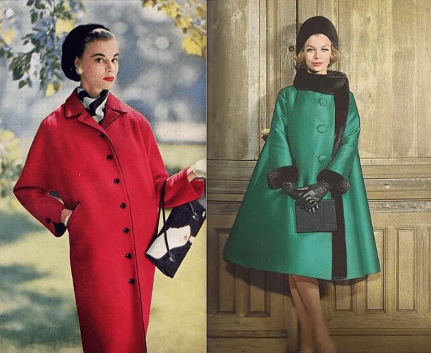 Пальто 1950-60 годов