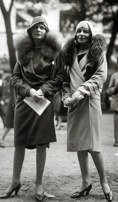 Пальто в 1920-30