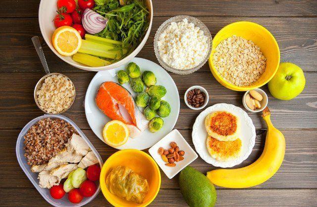 Правильное питание в домашних условиях меню