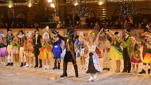 Шоу Татьяны Навки Аленький цветочек - сказка на льду для детей и взрослых