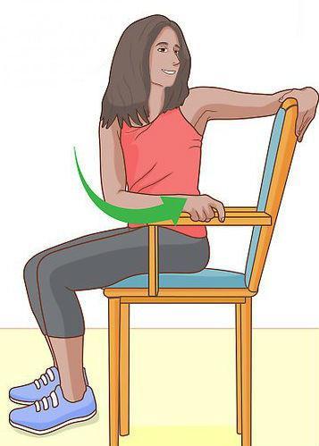 Вращения на стуле