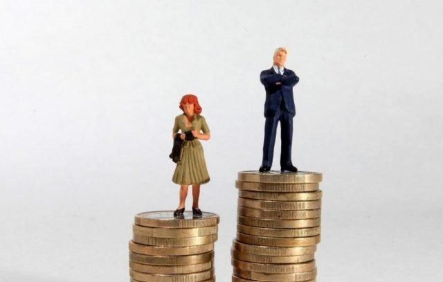 Зарплата женщин меньше