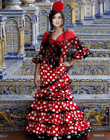 Ксения Бородна танцовщица фламенко