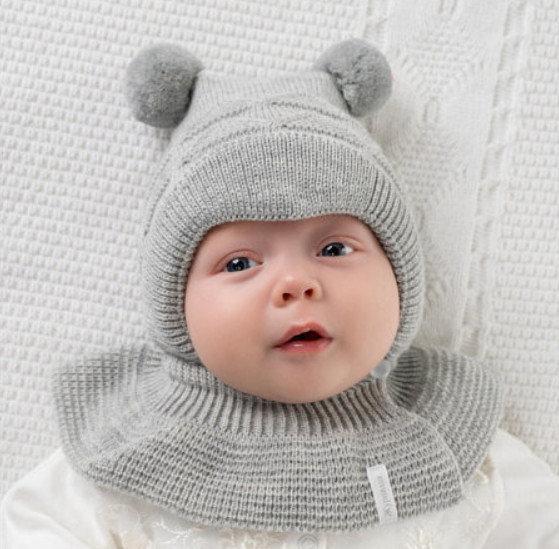 Детский капор для зимы