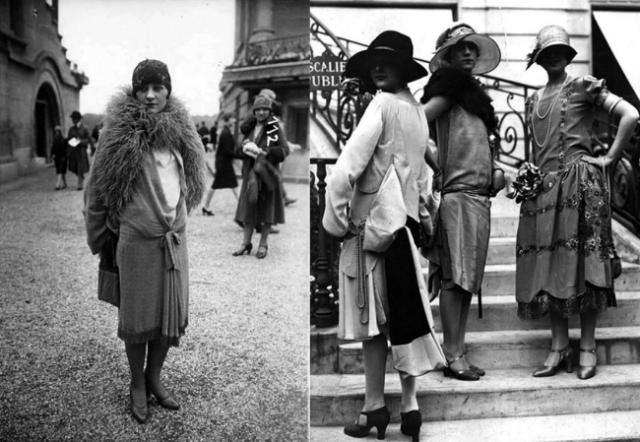 Модные образы 20 века