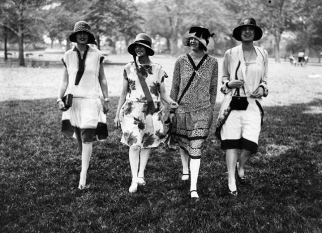 Модные образы 20 века2
