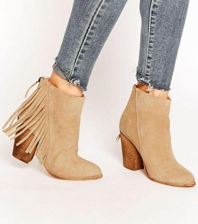 Обувь с бахромой1