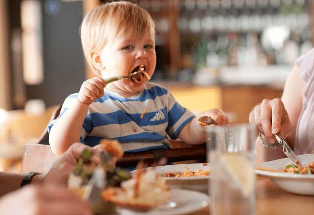 Поведение детей в ресторане