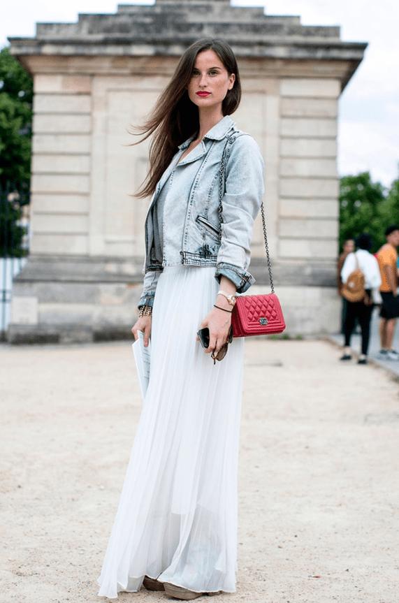 Как носить длинные платья1