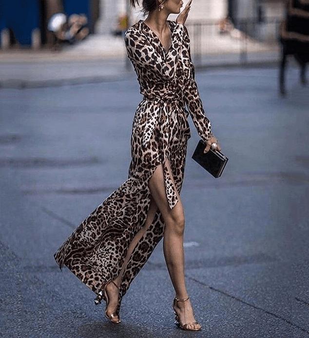 Как носить длинные платья5-1