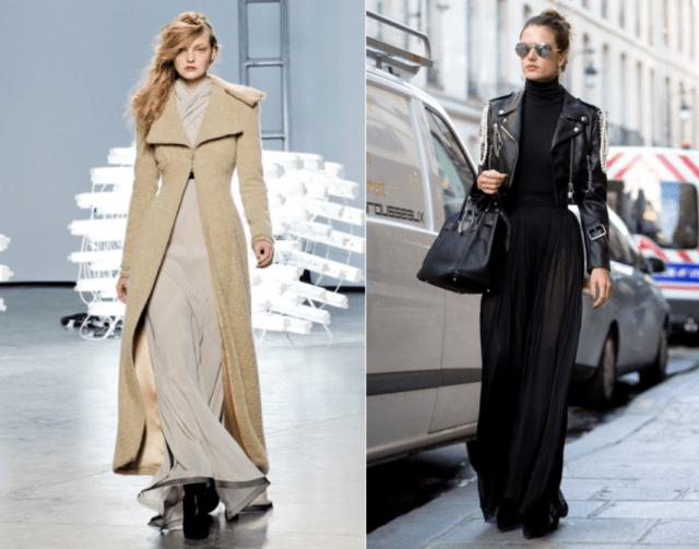 Как носить длинные платья6-1