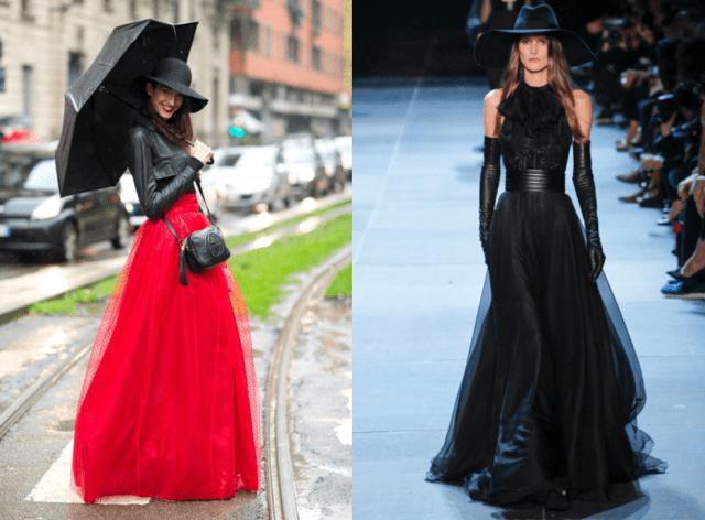 Как носить длинные платья9-1