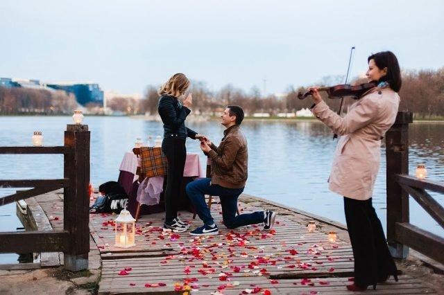 Предложение руки и сердца для женщины Рыбы