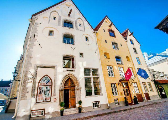 Таллин, отель The Three Sisters Boutique Hotel