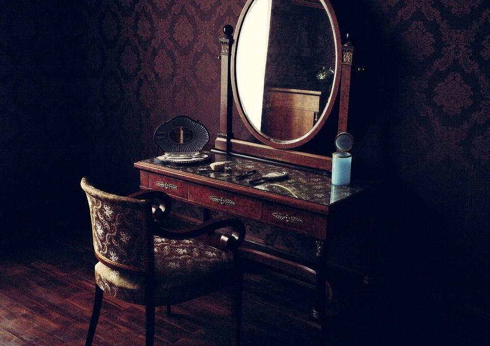 старое зеркало