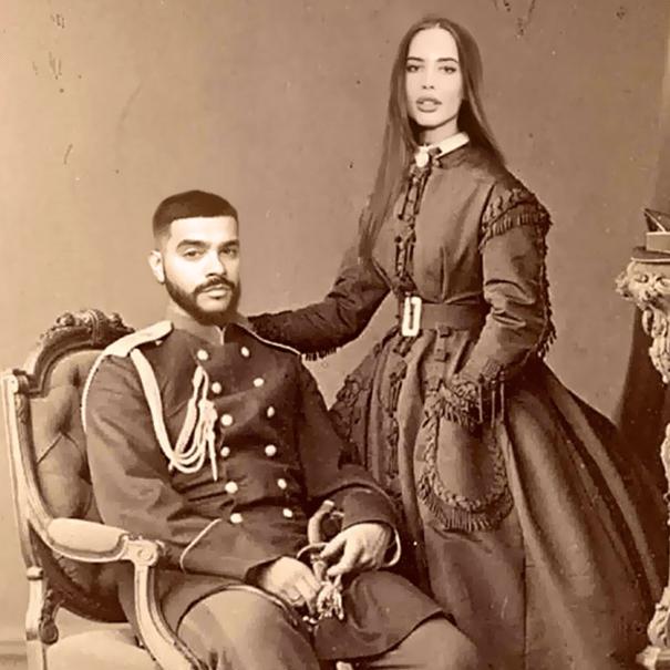 Тимати и Настя Решетова