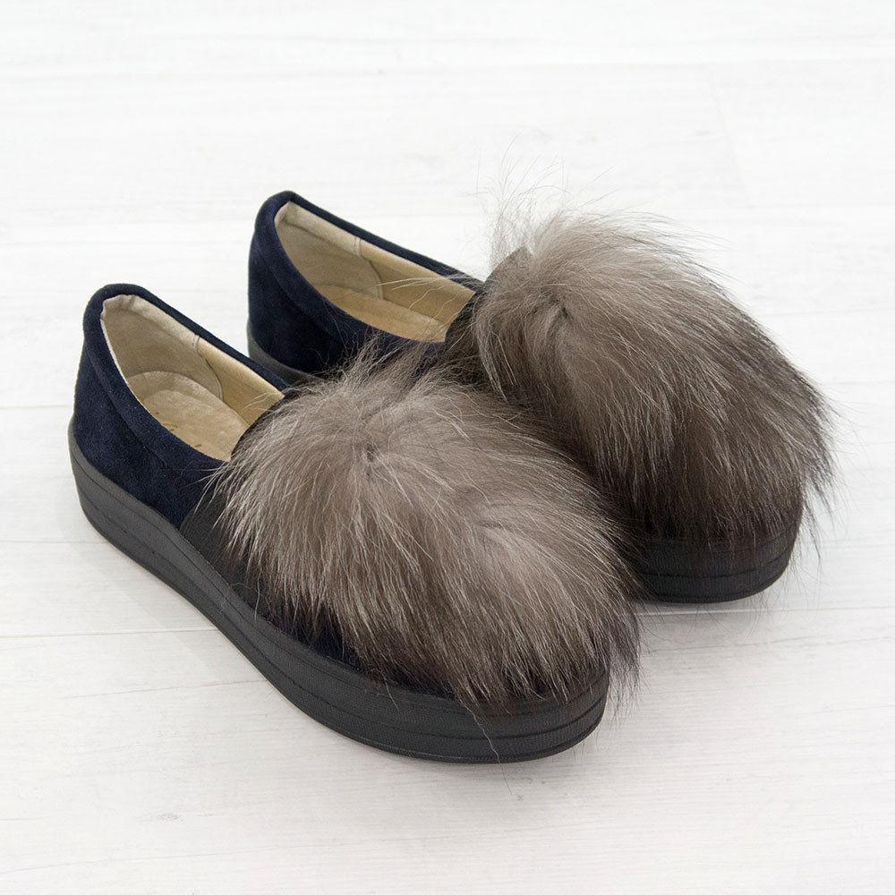туфли с мехом