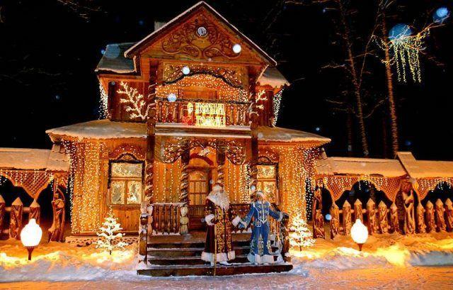 Санкт-Петербург, резиденция Деда Мороза