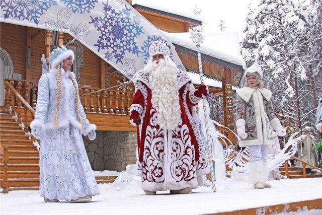 Великий Устюг, резиденция Деда Мороза