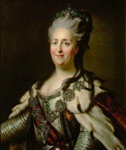 Как бы выглядела Екатерина Вторая в современных нарядах