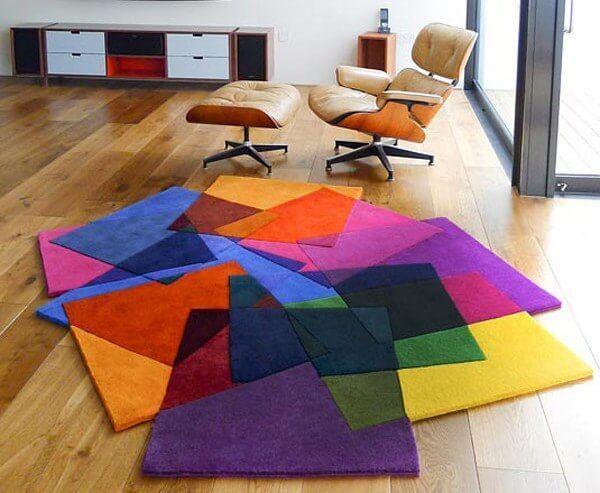 Как выбрать ковер на пол в гостиную - виды ковров и паласов, критерии выбора
