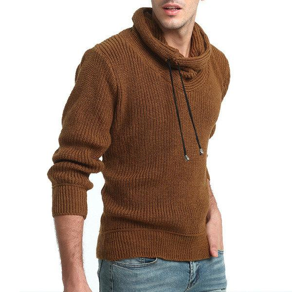 парень в свитере