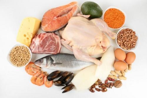 продукты с белками
