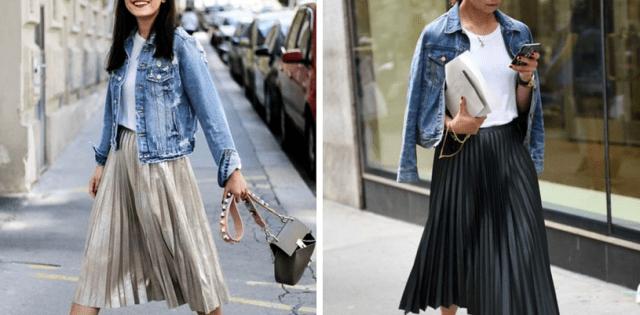С чем носить джинсовую куртку женщине за 40