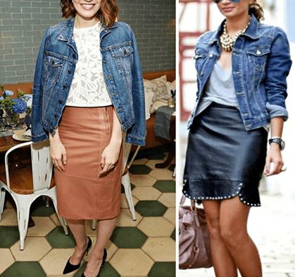 С чем носить джинсовую куртку женщине за 40 лет1