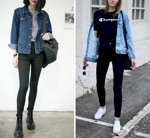 С чем носить джинсовую куртку женщине за 40 лет4